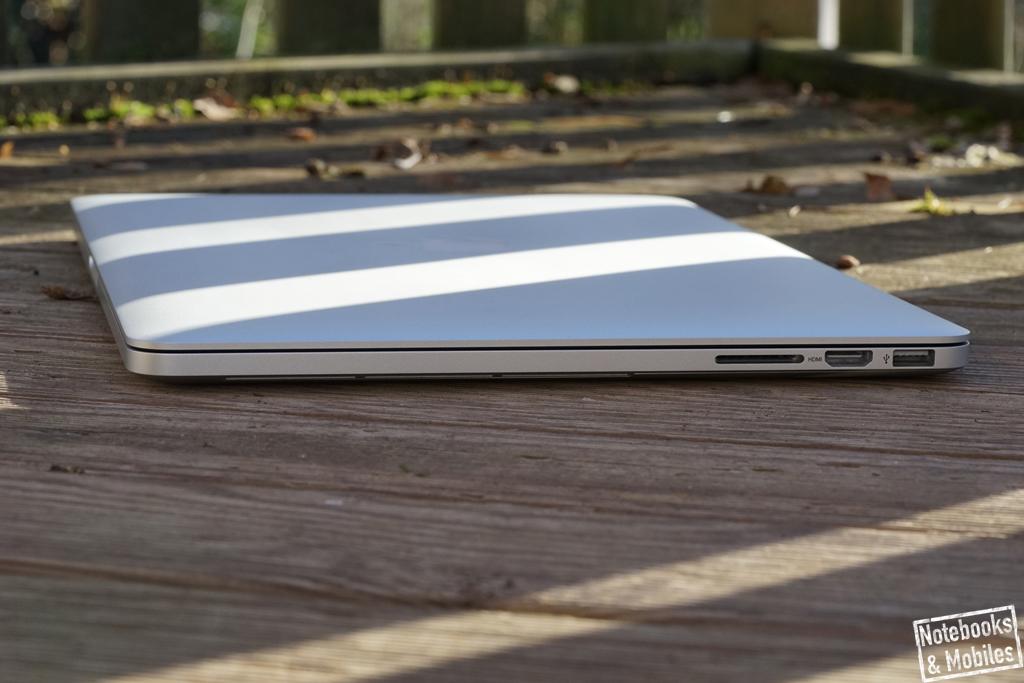 "Apple 15"" MacBook Pro Retina: Exklusives Notebook mit hohem Mobilitätsfaktor."