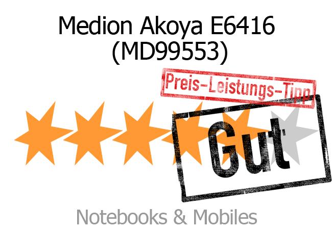 Rating Medion Akoya E6416