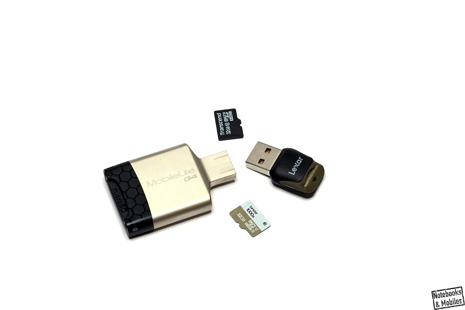 Externe UHS-II-Kartenleser sorgen für eine adäquate Leistungsentfaltung.