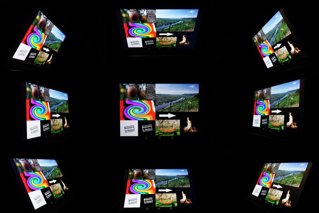 Huawei MediaPad M2 10.0 Blickwinkel