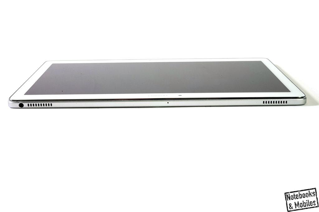Huawei MediaPad M2 10.0: Die insgesamt vier Boxen sind an den Ober- und Unterseiten (Landscape-Modus) verteilt.