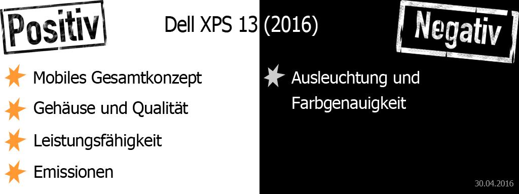 Dell XPS 13 Pro und Contra