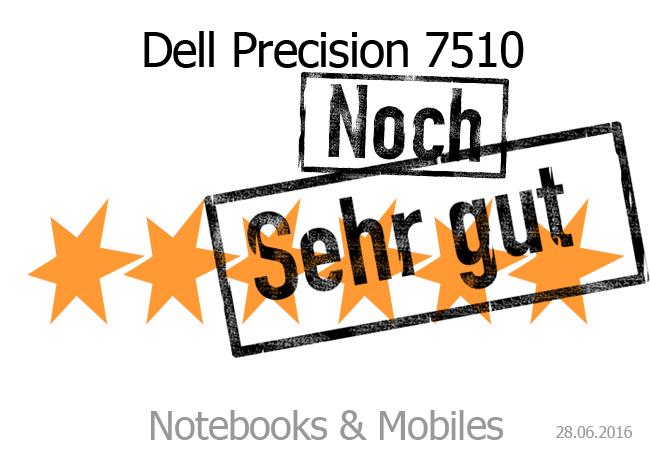 Dell Precision 7510 Sehr gut