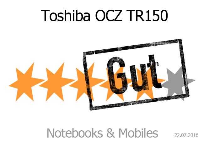 Toshiba OCZ TR150 (Trion)