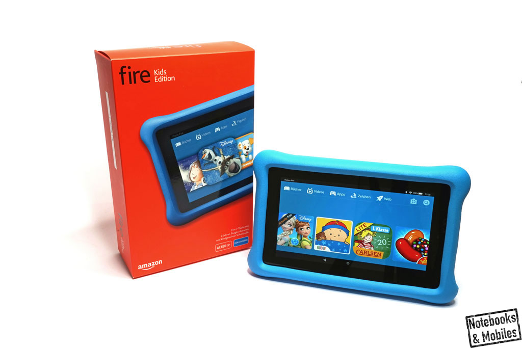 Amazon Fire Kids Edition-Tablet im Test