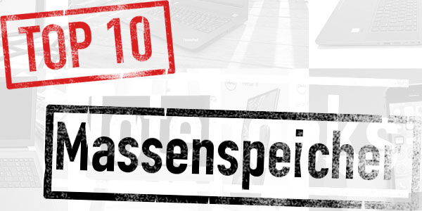 TOP 10 Massenspeicher