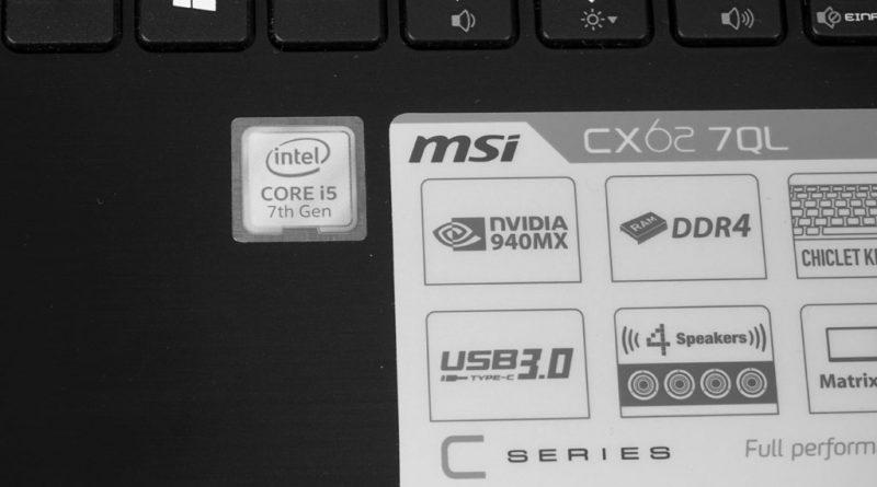 Kaby Lake Intel Core i5-7200U