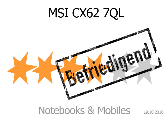 MSI CX62 7QL