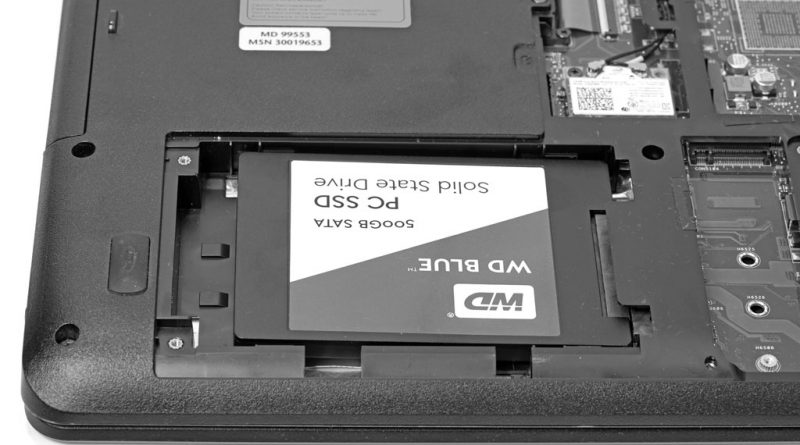 WD Blue PC SSD 500 GB