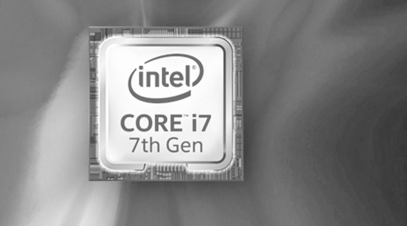 Kaby Lake Intel Core i7-7500U
