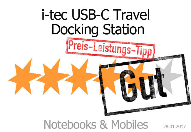 i-tec USB-C Travel Docking Station