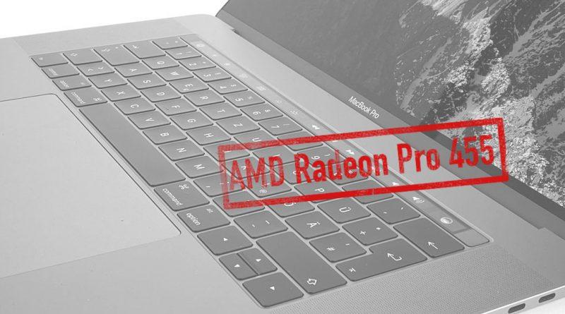 AMD Radeon Pro 455