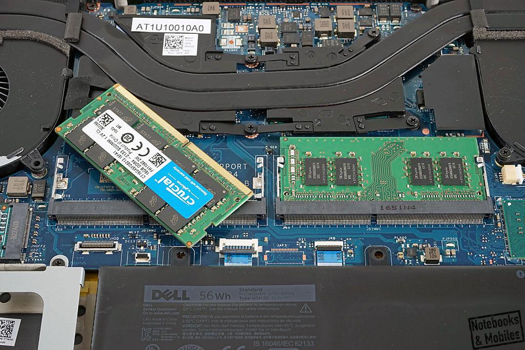 Intel Core i5-7300HQ im Dell Precision 5520