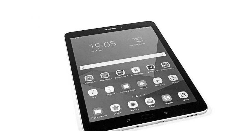 samsung galaxy tab s3 im test notebooks und mobiles. Black Bedroom Furniture Sets. Home Design Ideas