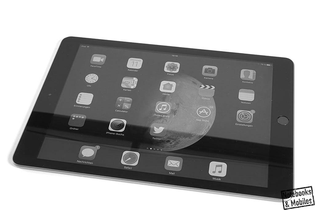 apple ipad 9 7 2017 im test notebooks und mobiles. Black Bedroom Furniture Sets. Home Design Ideas