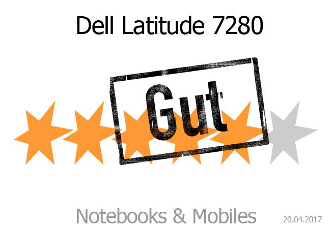Dell Latitude 7280 mit guter Bewertung