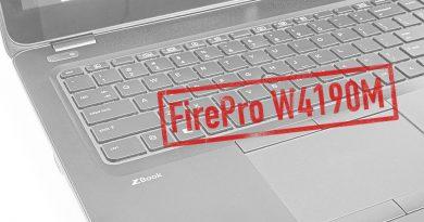 AMD FirePro W4190M