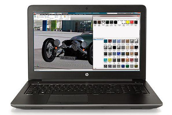 Bild HP: HP ZBook 2017 - HP ZBook 15 G4