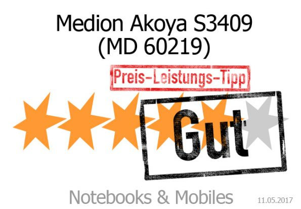 Medion Akoya S3409