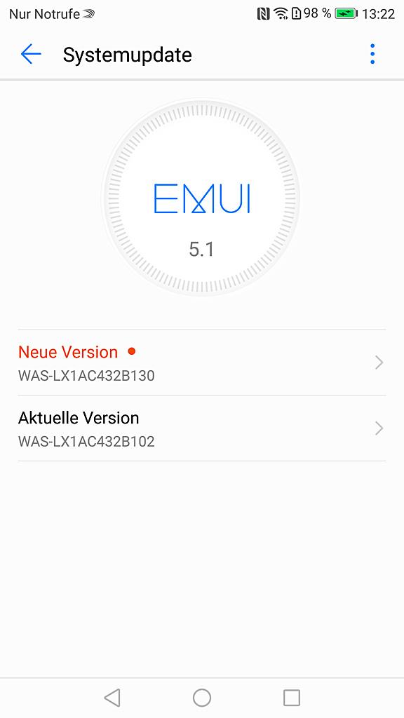 Huawei P10 lite mit Android 7 Nougat und EMUI 5.1