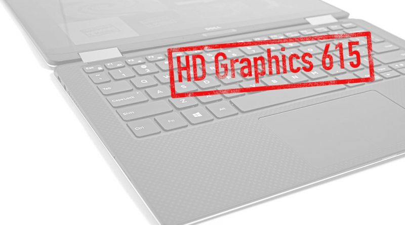 Intel HD Graphics 615