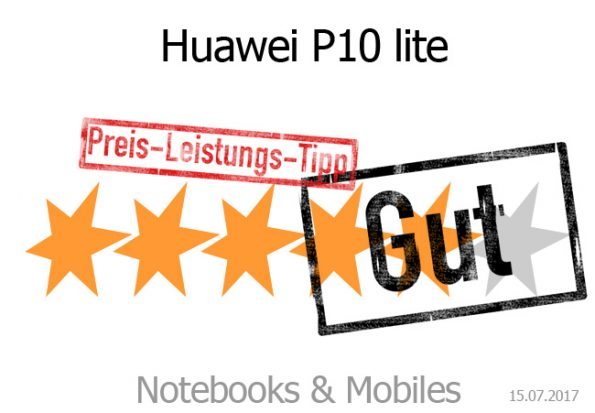 Huawei P10 lite mit guter Bewertung