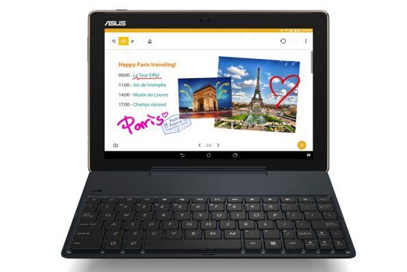 Bild Asus: Asus ZenPad 10 Z301MFL mit Tastaturdock
