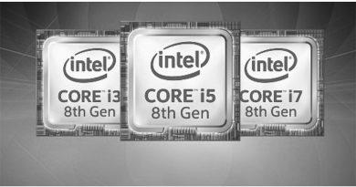 Bild Intel: 8. Core-Prozessorgeneration