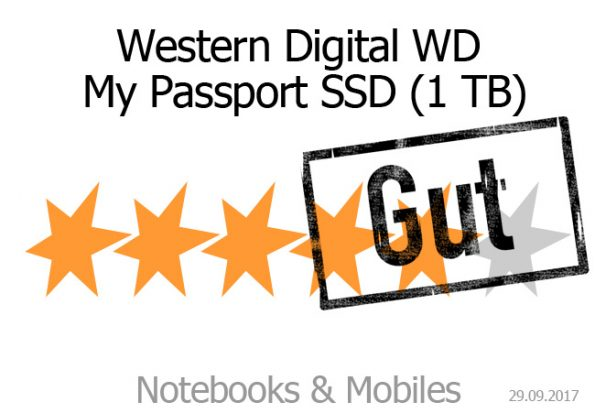 Western Digital WD My Passport SSD 1 TB
