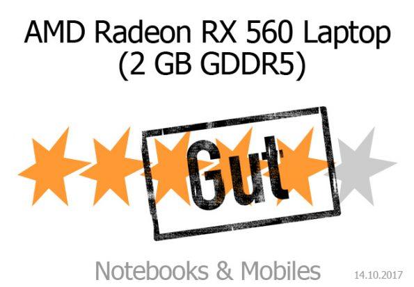 AMD Radeon RX 560 (Laptop)