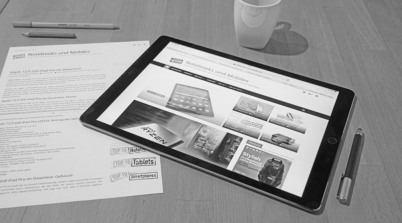 12,9 Zoll iPad Pro 2015