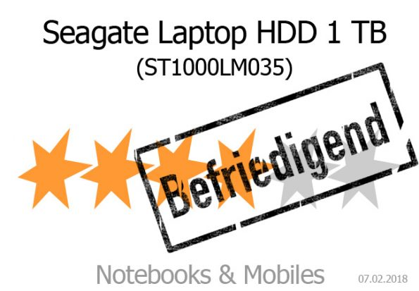 Seagate Mobile HDD 1 TB (ST1000LM035)