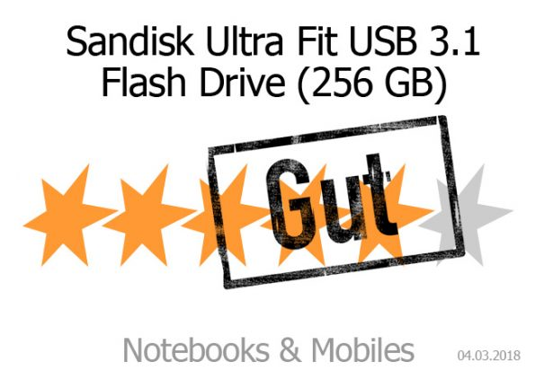 Sandisk Ultra Fit 256 GB