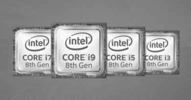 Bild Intel: Intel Core i5-8400H im Test