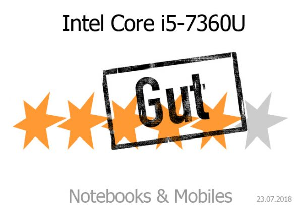 Intel Core i5-7360U im Apple 13 Zoll MacBook Pro 2017