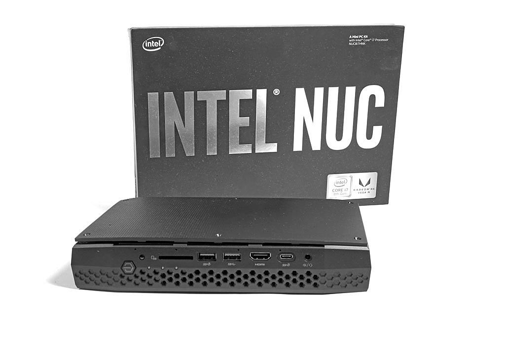 Intel NUC8i7HNK NUC-Kit (Hades Canyon) im Test - Notebooks