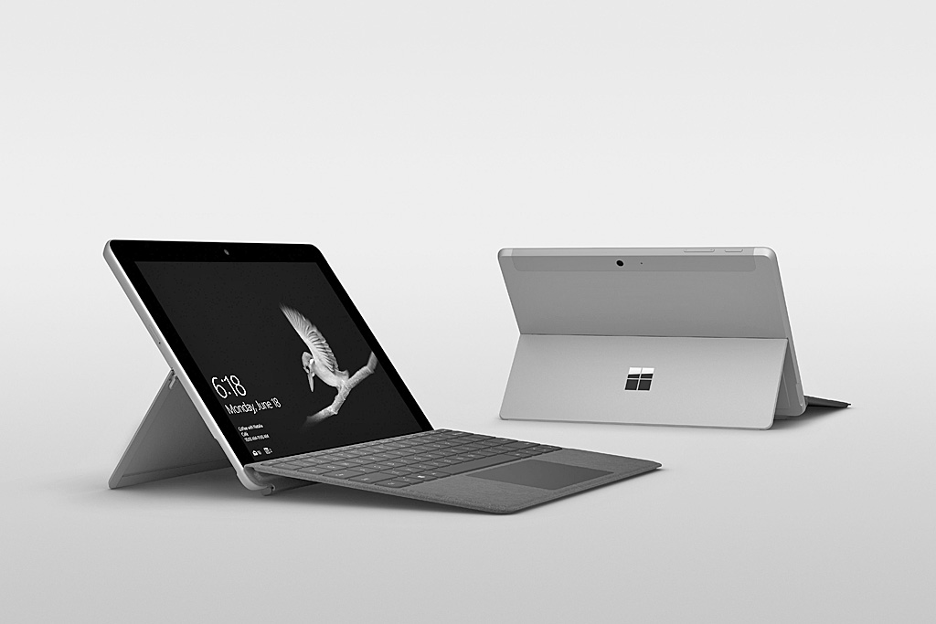 microsoft surface go 2018 tablet im test notebooks und. Black Bedroom Furniture Sets. Home Design Ideas
