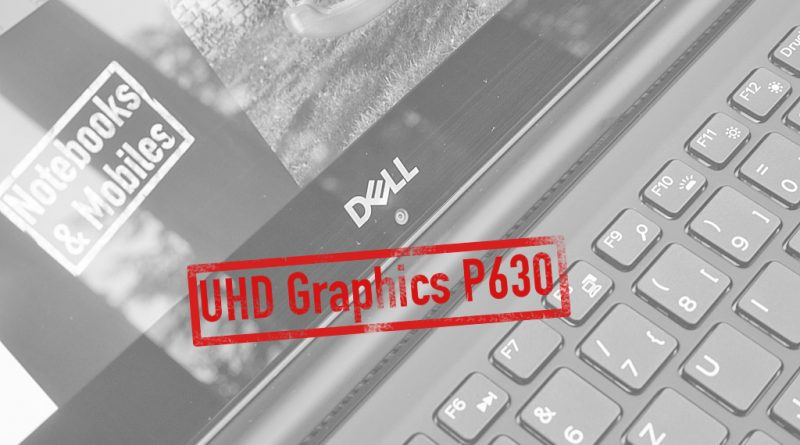 Intel UHD Graphics P630