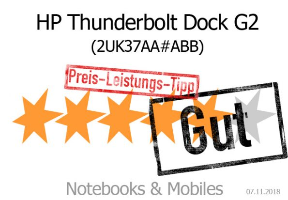 HP Thunderbolt Dock G2