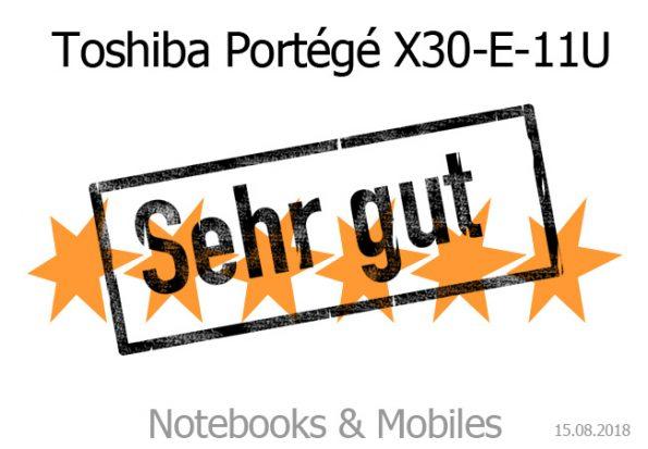 Toshiba Portégé X30-E11U