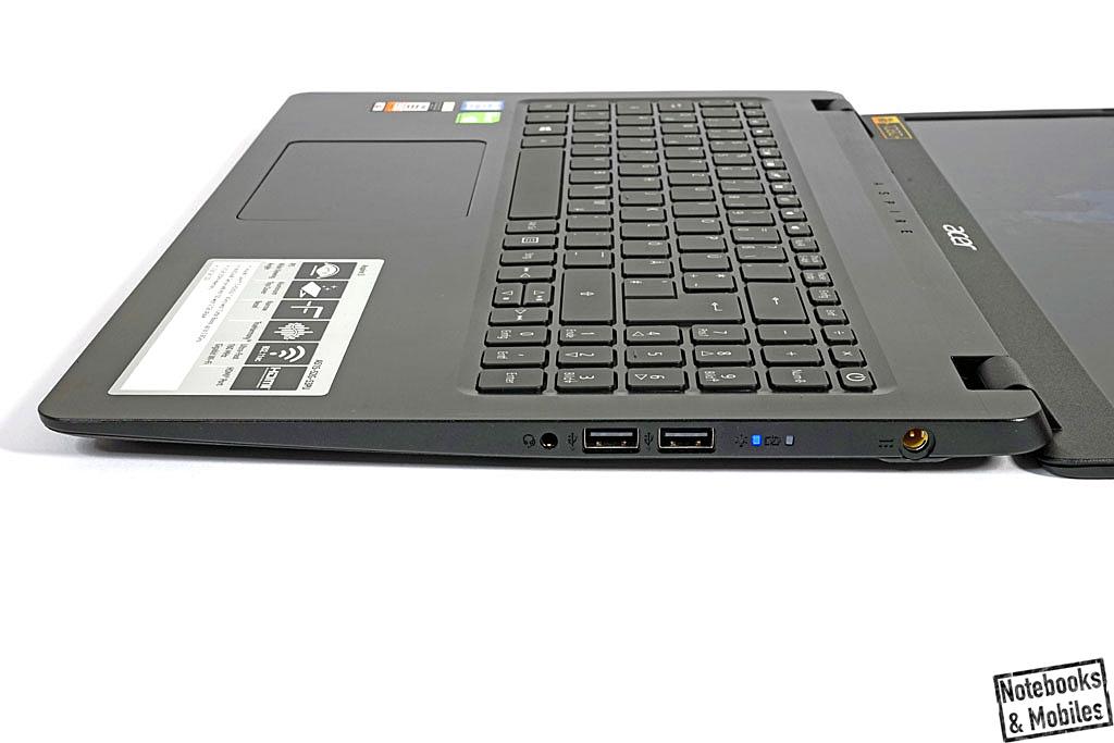 Acer Aspire 5 A515-52G-53PU (i5-8265U) im Test - Notebooks und Mobiles