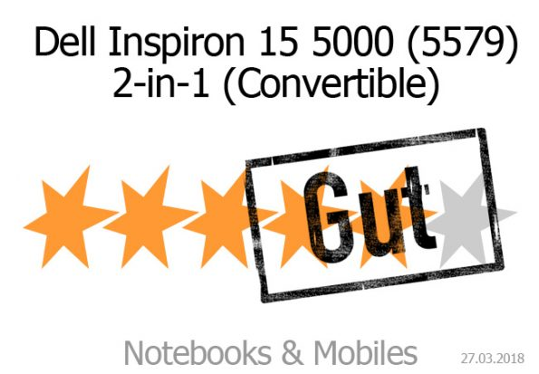 Dell Inspirion 15 2-in-1 5579 Convertible