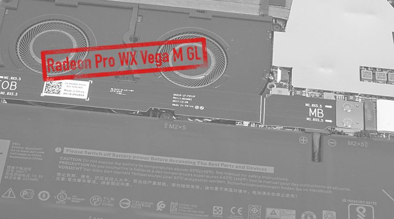 AMD Radeon Pro WX Vega M GL