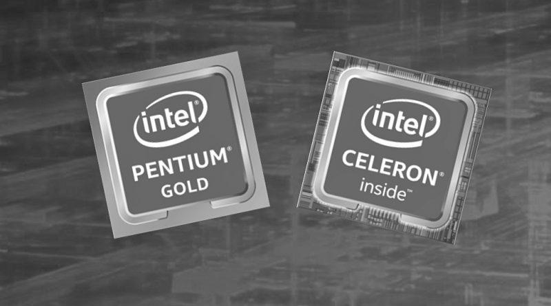 Bild Intel: Intel Pentium 5405U und Celeron 4205U