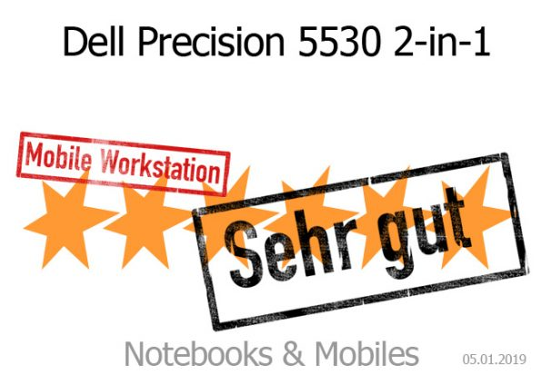 Dell Precision 5530 2-in-1 Convertible-Workstation