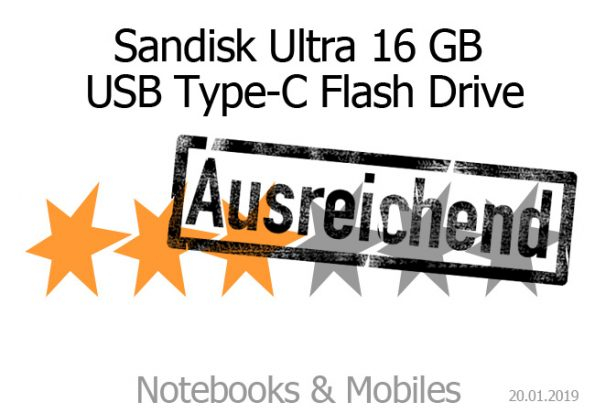 Sandisk Ultra USB Type-C Flash Drive 16 GB