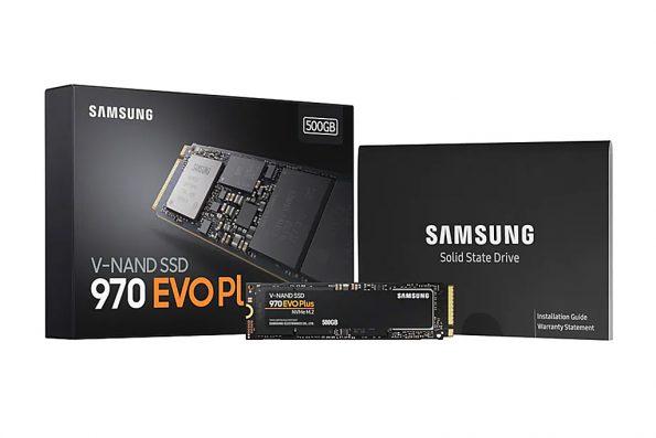 Bild Samsung: Samsung 970 EVO Plus.