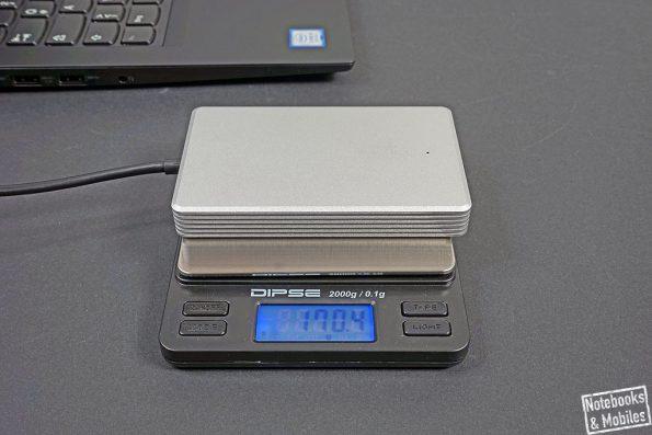 DeLock Thunderbolt 3 Externe Portable SSD