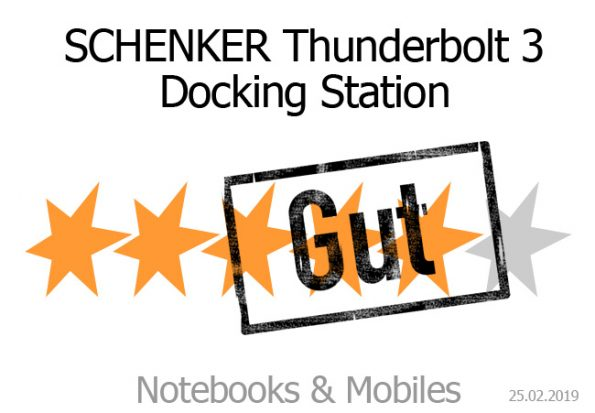 Schenker Thunderbolt 3 Dockingstation