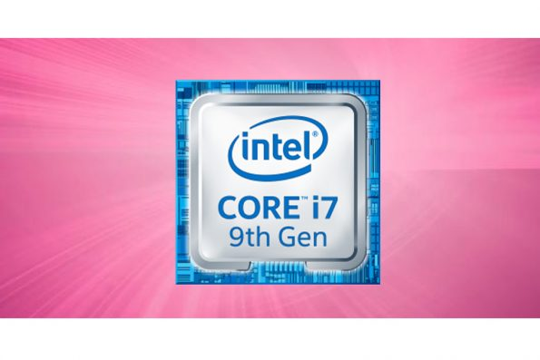 Bild Intel: Intel Core i7-9750H.
